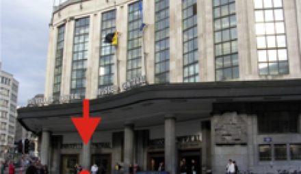 Brussels Central Station (Gare Bruxelles-Central)