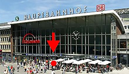 Cologne Central Station (Köln Hauptbahnhof)