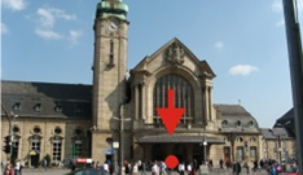 Luxembourg Central Station (Gare de Luxembourg)